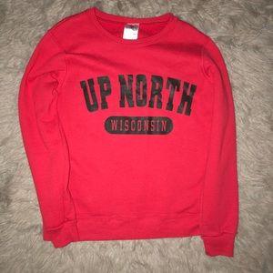 NWOT Up North Crew Neck